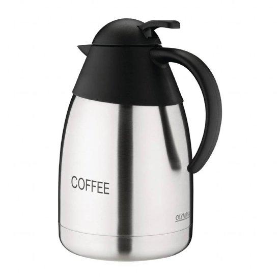 Olympia RVS Thermoskan | Coffee | 1,5 Liter in Sint Maartensvlotbrug