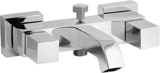 Plieger kuba badkraan 15 cm hartafstand chroom klussen - Moderne badkraan ...
