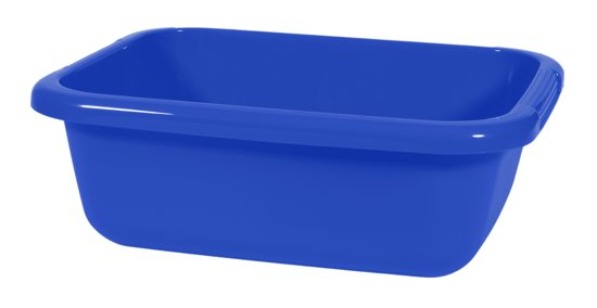 bolcom  Curver Emmer  9 l  Kunststof  Rechthoekige bak  Blauw  Koken e # Wasbak Plastic_054500