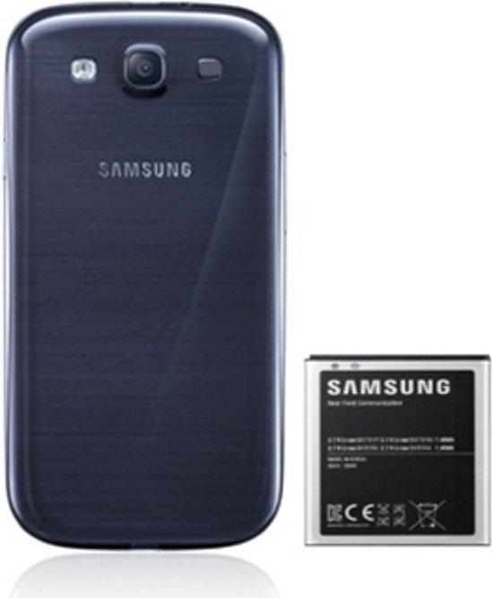 Samsung externe battery kit voor Samsung I9300 Galaxy SIII - Blauw