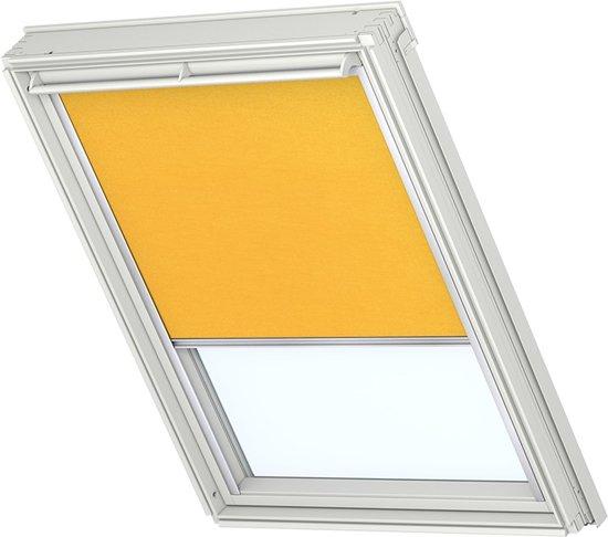 velux lichtdoorlatend rolgordijn geel elektrisch op netstroom raamcode uk10. Black Bedroom Furniture Sets. Home Design Ideas
