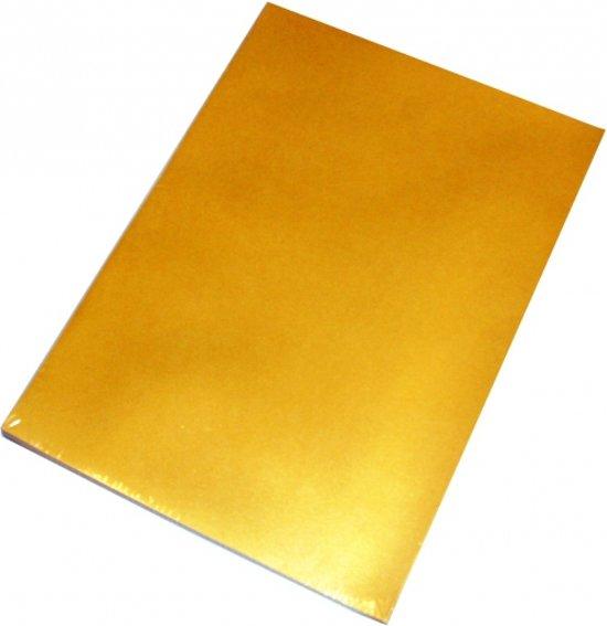 50 vellen goud a4 hobby papier for Gekleurd papier action
