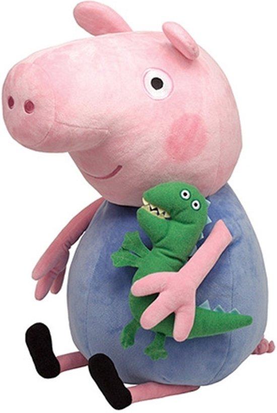 Peppa Pig Pluche Knuffel - George 23cm in Terheijl
