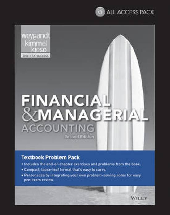 financial and managerial accounting weygandt pdf