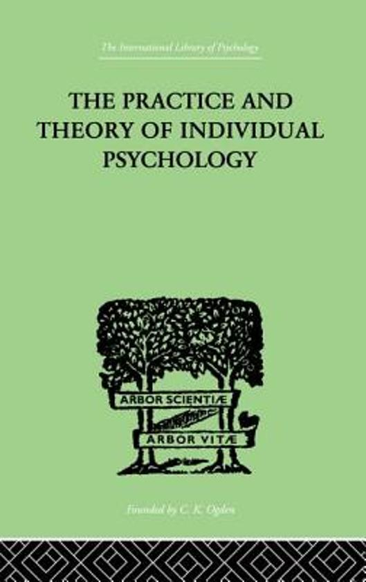 the practice and theory of individual psychology pdf