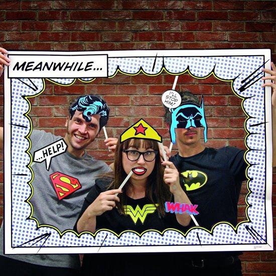 DC Comics Photobooth in Foxhol
