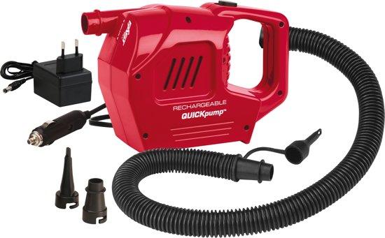 Coleman - Electrische pomp - Rechargeable Quickpump - 12/230 Volt - 679 Liter/min in Stenenheul
