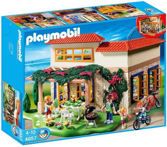 Playmobil vakantiehuis 4857 playmobil for Agrandissement maison moderne playmobil