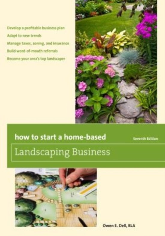 start and run a gardening business plans