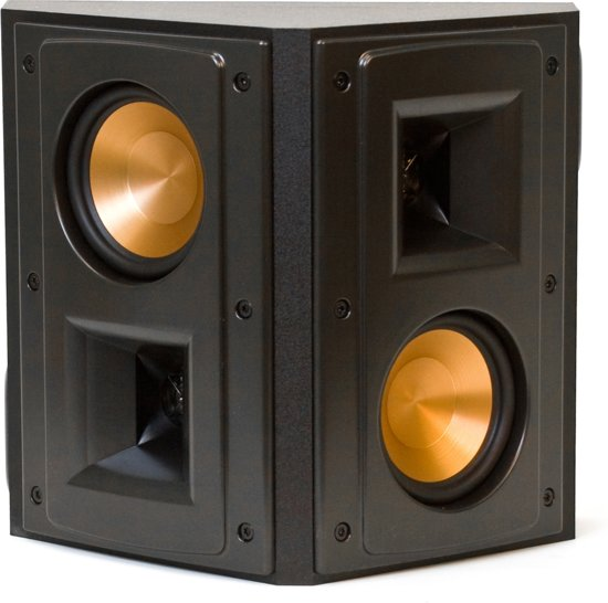 klipsch rs 42 ii surround luidspreker zwart. Black Bedroom Furniture Sets. Home Design Ideas