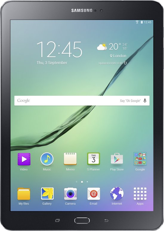 Samsung Galaxy Tab S2 (VE) - 9.7 in - WiFi - Zwart
