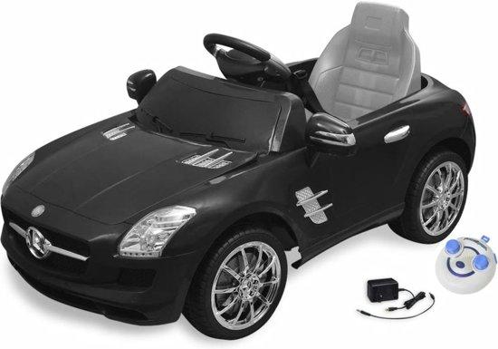 vidaXL Elektrische auto Mercedes Benz SLS AMG zwart 6 V met afstandsbediening in Dalfserveld