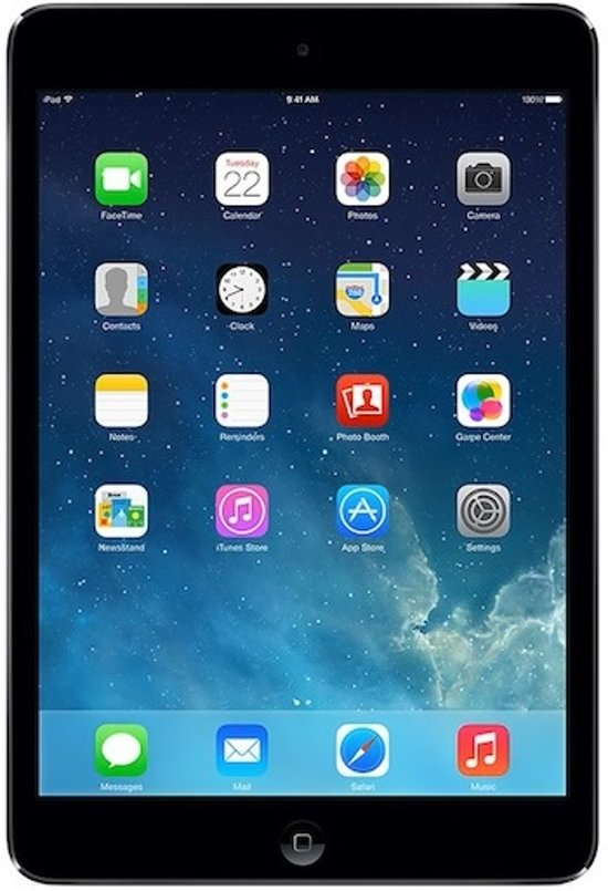 Apple iPad Mini - Wit/Zilver - 16GB - Tablet