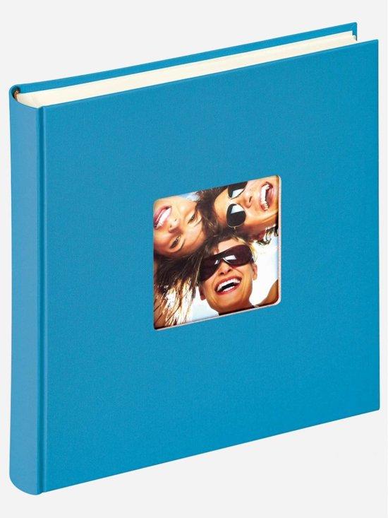 Walther Design Fa-208-U Fun - Fotoalbum - 30 x 30 cm - Oceaanblauw - 100 pagina's in Zeewolde