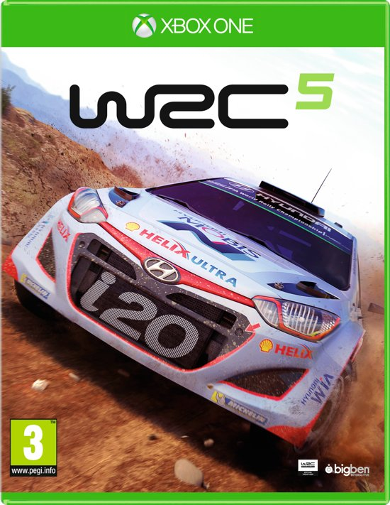 wrc 5 world rally championship xbox one big ben games. Black Bedroom Furniture Sets. Home Design Ideas