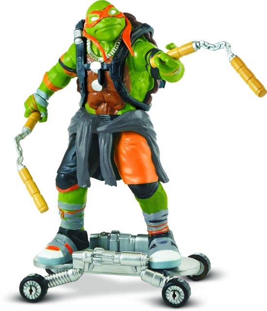 Ninja Turtles - Michelangelo - Beweegbaar Speelfiguur - 12 cm in Weelde
