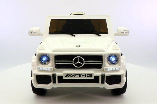 Mercedes G65 kinder Accu Auto Wit in Draaibrug