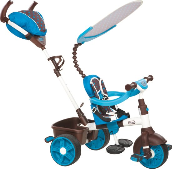 Little Tikes 4-in-1 - Driewieler - Sport Editie Trike - Blauw in Sint-Joost-ten-Node