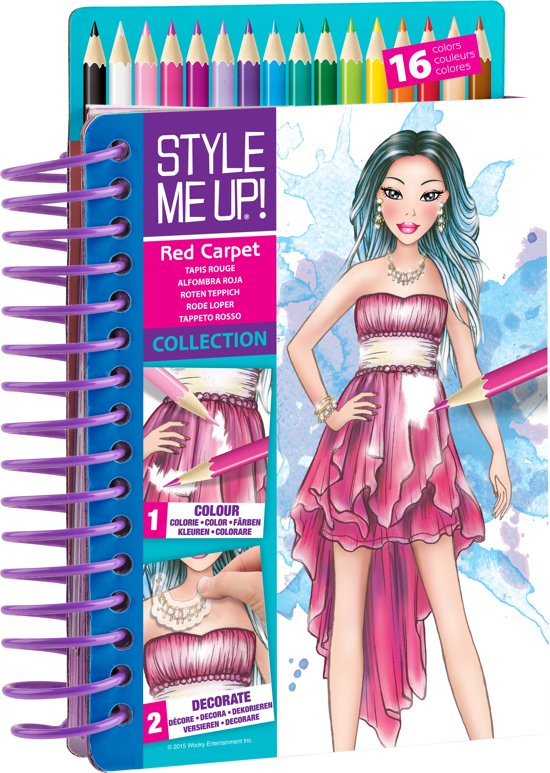Style Me Up Sketch To Go Carp Speelgoed