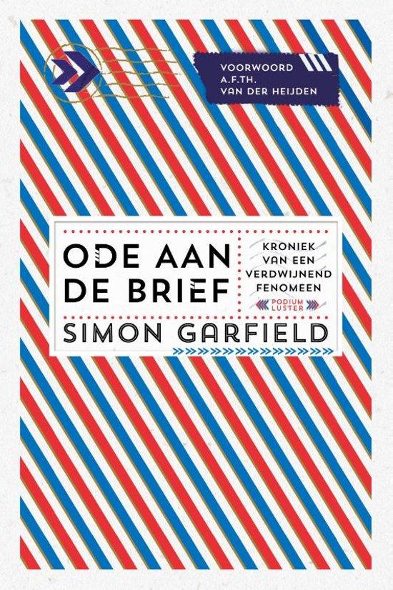 bol com   Ode aan de brief, Simon Garfield   9789492060006   Boeken