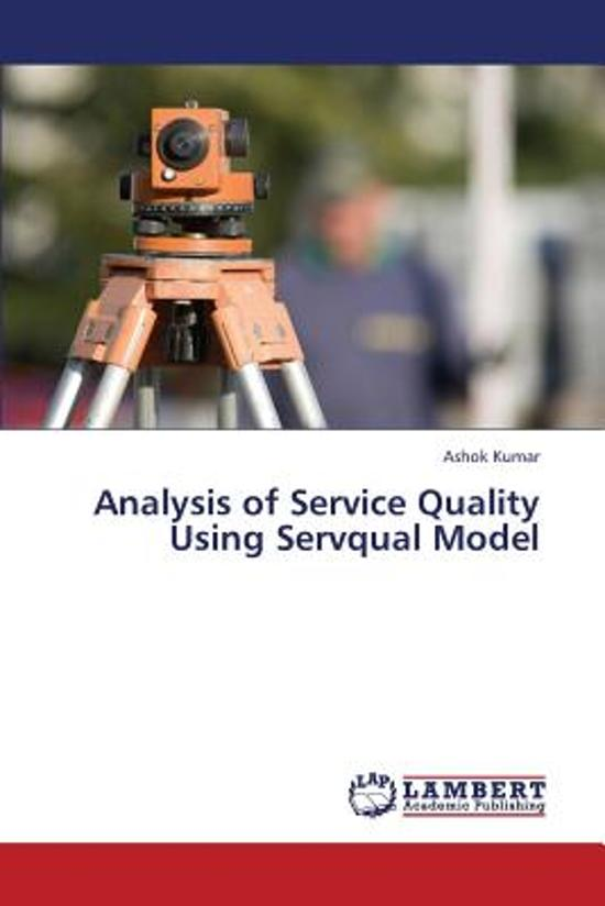 literature review on servqual model of service quality A review of literature on the gaps model on se  perceived service quality measurement, as servqual  of the marketing literature that service quality scores vary considerably between.