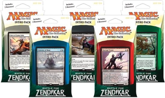 Magic the Gathering -Battle For Zendikar Intro Pack 1x in Bern