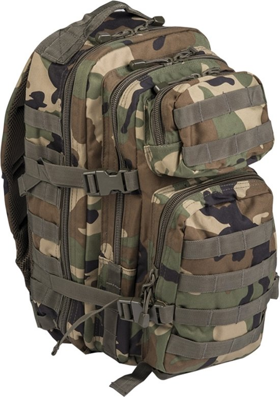 US Assaultpack Molle rugzak woodland 30 L in Buzet