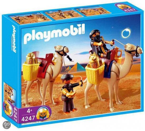 Playmobil grafrovers met kamelen 4247 playmobil - Egypte playmobil ...