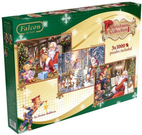 Falcon Christmas Collection Vol. 1 - Puzzel - 3000 stukjes in Geesteren