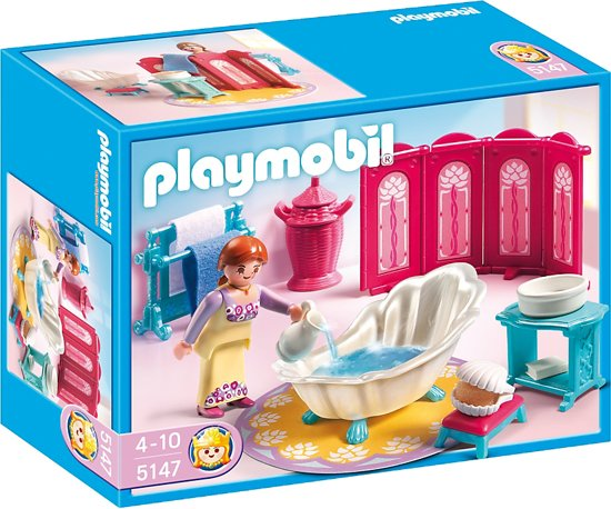 Playmobil Luxe Badkamer ~ bol com  Playmobil Koninklijk Bad  5147,Playmobil  Speelgoed