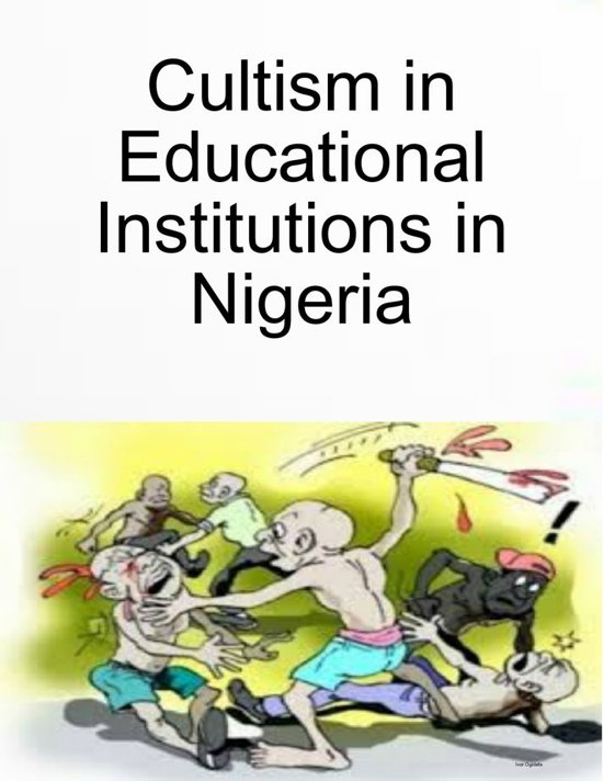 cultism essay This free management essay on cultism in tertiary institution is perfect for management students to use as an example.