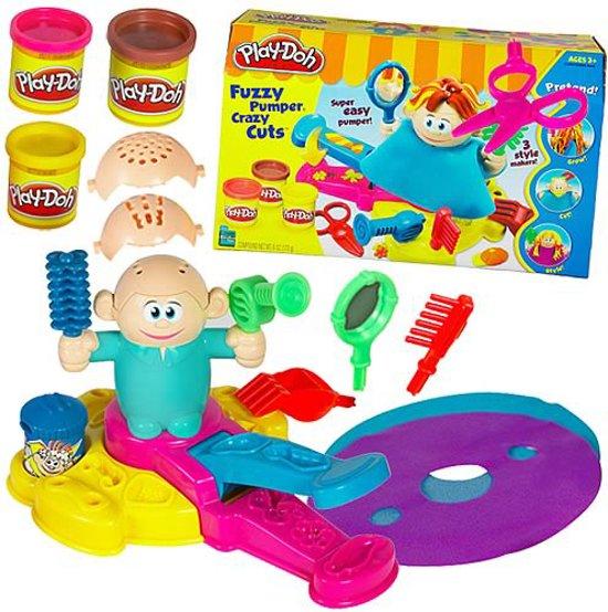 Play-Doh Bij De Kapper - Speelklei