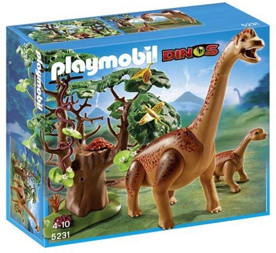 Playmobil Brachiosaurus met Jong - 5231