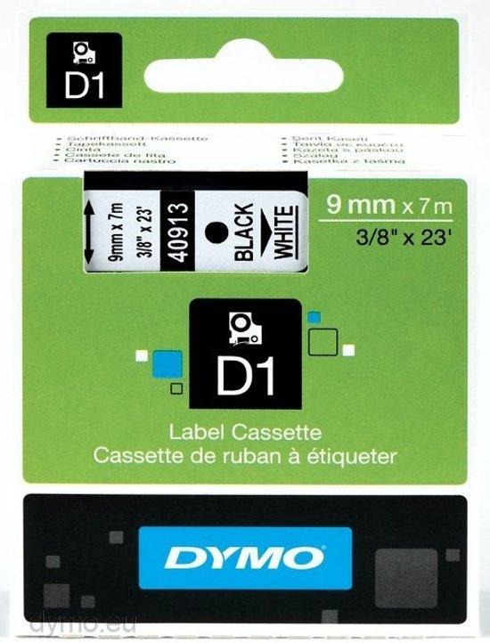 Dymo 99015 - Multifunctionele Etiketten / 54 x 70 mm / Zwart