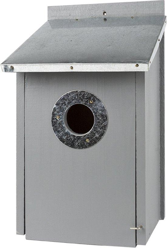 Luxus vogelhuisje design dier - Kleur grijs zink ...