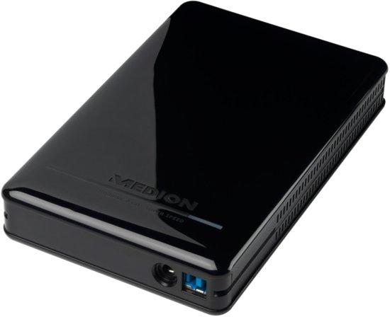 Medion MD 90169 2TB - Externe harde schijf / Zwart