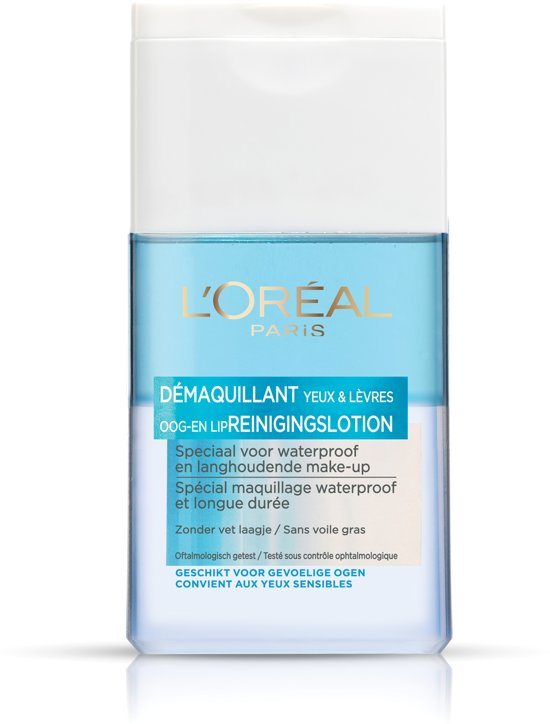 L'Oréal Paris Skincare - 125 ml- Oog/lipmake-up Remover