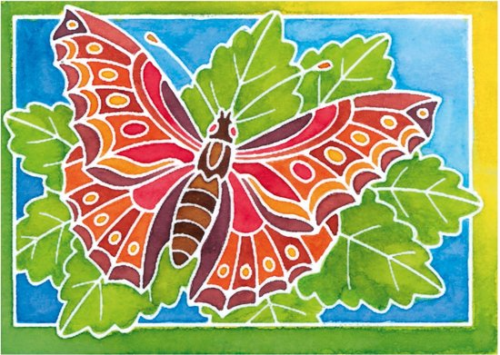 Aquarelle Mini Vlinder