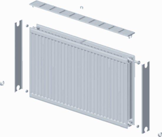 Paneelradiator T21 H300 B3000, inc. bevestigingsset, 2742 Watt in Wesch