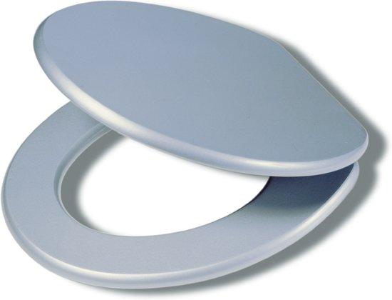 Tiger maine wc bril zilvergrijs klussen - Wc kleur ...