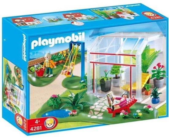 Playmobil wintertuin 4281 playmobil for Maison moderne jeu