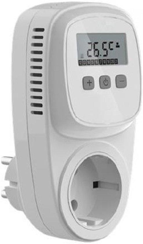 Thermostaat voor elektrische warmtebronnen als for Zuinige elektrische verwarming met thermostaat