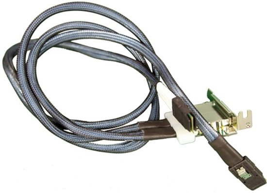 Supermicro IPass/IPass dual port Intern SAS interfacekaart/-adapter