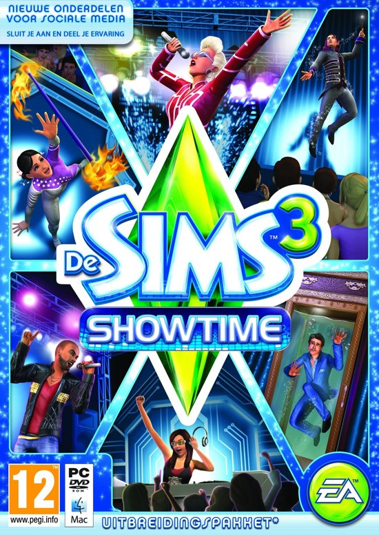 The Sims 3: Showtime - Engelse Editie
