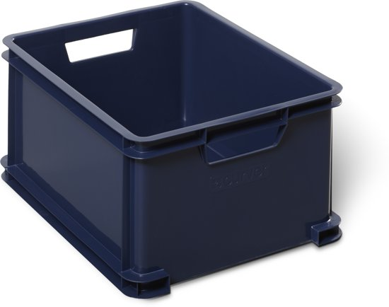 Curver Classic Unibox Opbergbox - 28 l - Kunststof - Donker Blauw