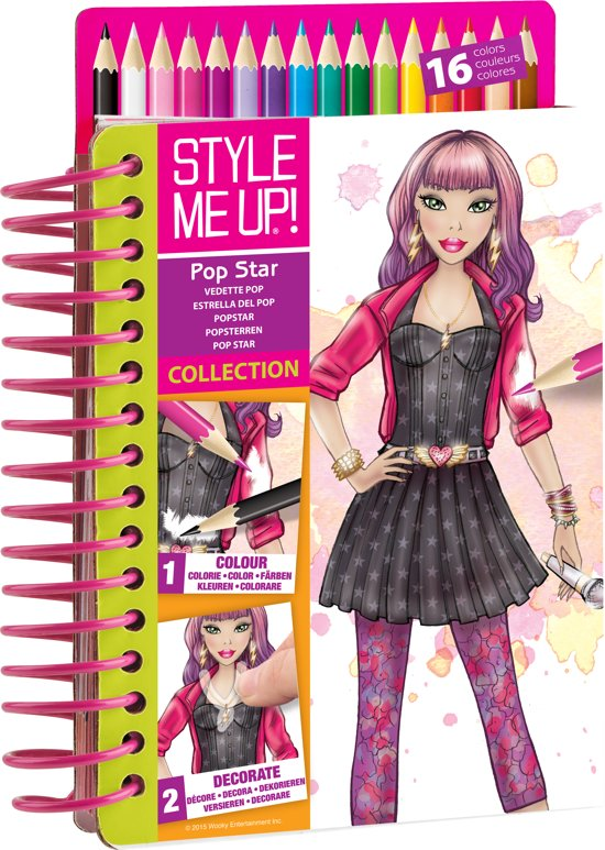Style Me Up Sketch To Go Star