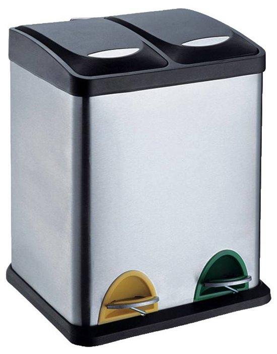 protenrop pedaalemmer duo 30 liter 2. Black Bedroom Furniture Sets. Home Design Ideas