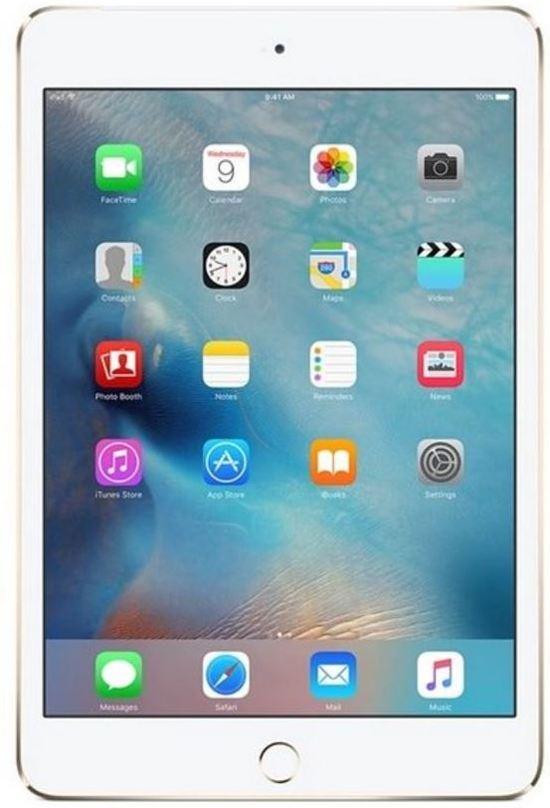 Apple iPad mini 4 - 4G + Wi-Fi - 32GB - Goud - Tablet