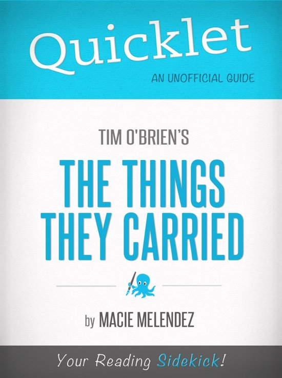 "a review of the things they carried by tim obrian 'the things they carried,' by tim o'brien ""the things they carried,"" which came out in 1990, is more than a book about the horror of fighting."
