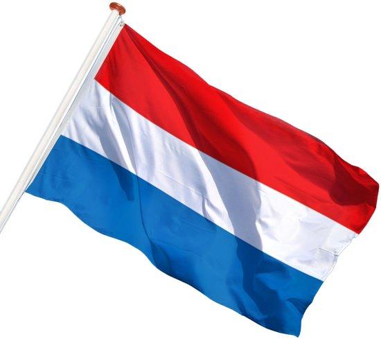 Talamex Nederlandse vlag 200 x 300 cm in De Overval